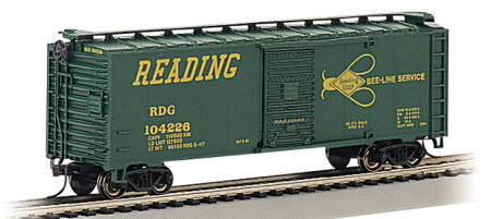 40' Box Car, Reading Bee-Line