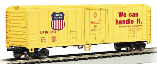 50' Steel Reefer, Union Pacific