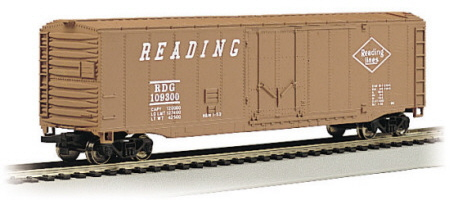 50' Plug-Door Box Car