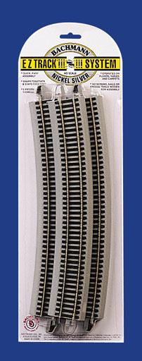 EZ Track® with Nickel Silver Rail & Gray Roadbed
